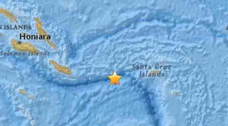 6.9 magnitude quake strikes off Solomon Islands: US GeologicalSurvey