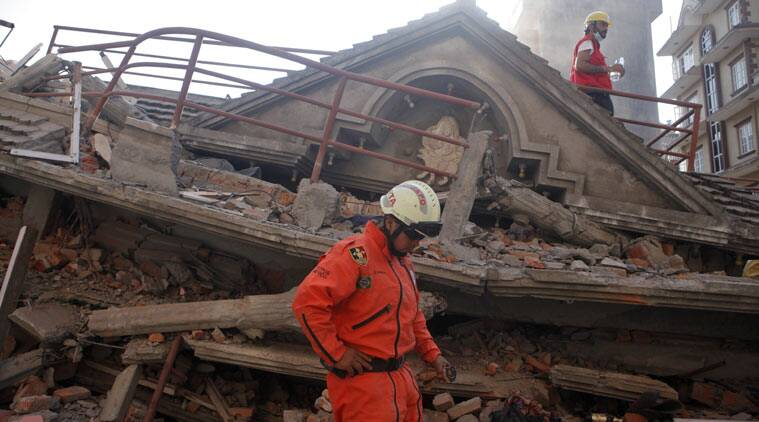 Image result for himalayas earthquake in india