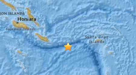Strong 6.8-magnitude quake strikes off Solomon Islands: US Geological Survey