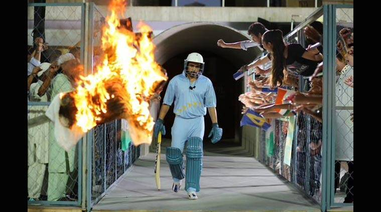 "That same slouch, taweez (amulet), helmet and the upturned collar -- the first look of Emraan Hashmi-starrer ""Azhar""."