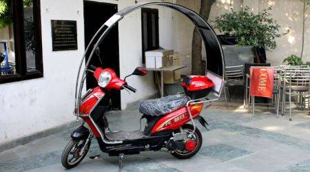 ETI Dynamics brings solar-electric hybrid scooter in India