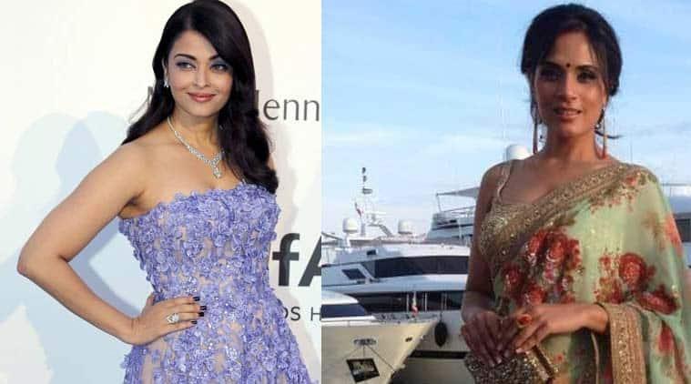 talk, fashion, saree versus gown, Cannes 2015, #100sareepact, Indian fashion international fashion, red carpet fashion, Indian Express
