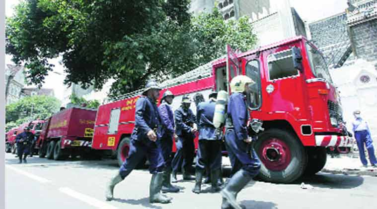 Mumbai Fire Brigade, fire officials, fire fighters, personal protection equipment, Brihanmumbai Municipal Corporation, BMC, firemen, fire safety, China, Test Audit and Vigilance Officer, TAVO, Kalbadevi building, Sandeep Deshpande, MNS corporator, MNS, Pallavi Darade, safety measures, BMC news, mumbai news, mahrashtra news, india news, nation news, news