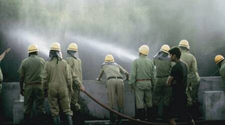 Factory in Outer Delhigutted