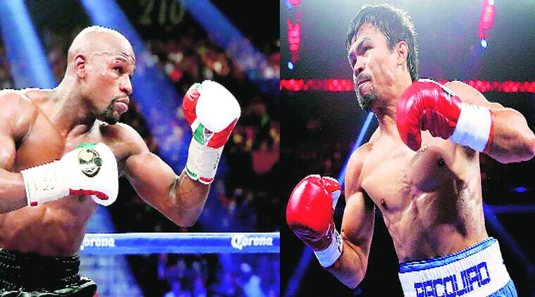 George Foreman, Floyd Mayweather vs Manny Pacquiao bout, Floyd Mayweather, Manny Pacquiao, boxing, sports, indian express explained, explained indian express,