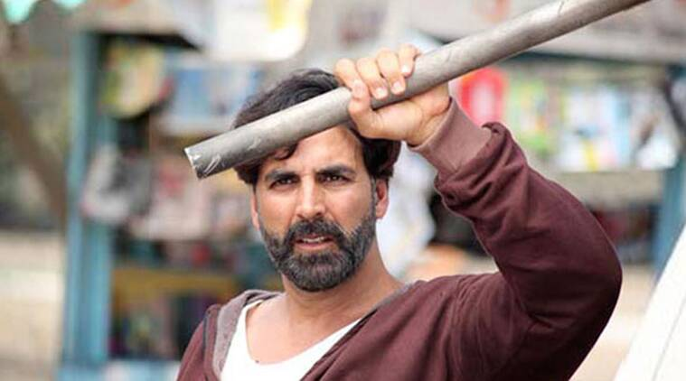akshay kumar, Gabbar is back, gabbar is back review, Gabbar, gabbar is back movie review, gabbar is back movie, gabbar is back box office, gabbar is back grossings, gabbar is back night shows, gabbar is back friday show, gabbar is back performance, gabbar movie opening day, gabbar is back collection, gabbar is back weekend, shruti haasan, Kareena Kapoor, Sunil Grover, Suman Talwar, bollywood news, entertainment news