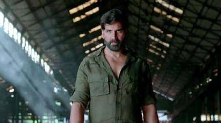 Gabbar is Back, Gabbar is Back review, Gabbar is Back movie review, Akshay Kumar, Shruti Haasan, Gabbar is Back review Akshay Kumar, review Gabbar is Back, entertainment news, Akshay Kumar movie
