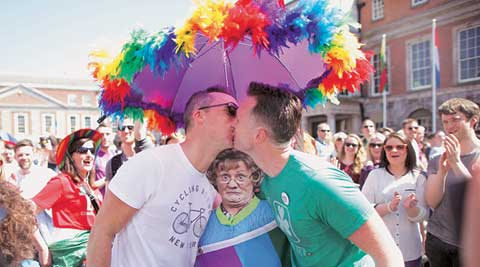 gay marriage, ireland gay marriage vote, ireland gay vote, gay right, ireland vote, catholic, gay, church, ireland news, world news