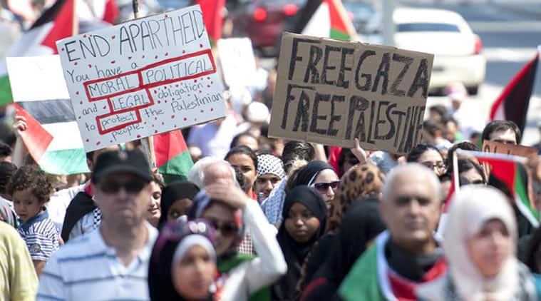 gaza occupation, gaza west bank occupation, Israel gaza occupation, Israel-palestine conflict, israel-palestine violence, UNHRC, UN resolution on Gaza, gaza protest, gaza news, UN news, Israel news, Palestine news, india news, latest news, top stories