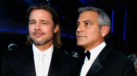 George Clooney Planning Brad Pitt Prank