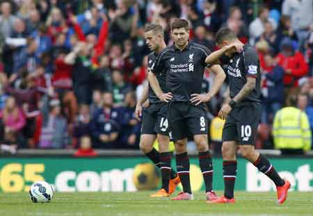 Liverpool bid goodbye to Gerrard