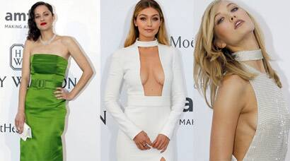 Cannes 2015: Gigi Hadid, Karlie Kloss show too much skin at amfAR Gala