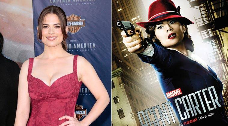 Hayley Atwell, actress Hayley Atwell, tv actress Hayley Atwell, agent carter, Hayley Atwell in agent carter, agent carter season 2, entertainment news