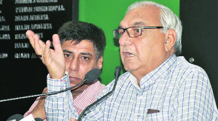 Former CM Bhupinder Singh Hooda has denied all charges of wrongdoing.