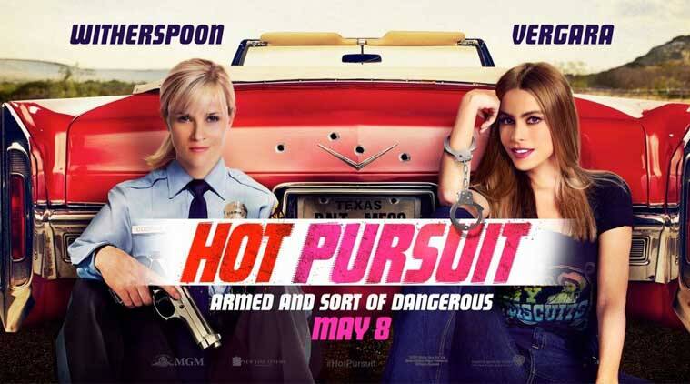 Hot Pursuit, Hot Pursuit Movie review, Hot Pursuit Review, Hot Pursuit ratings, Hot Pursuit Movie release, Hot Pursuit Movie, Hot Pursuit Cast, Hot Pursuit 2015, Reese Witherspoon, Sofia Vergara, Hollywood News, Entertainment News