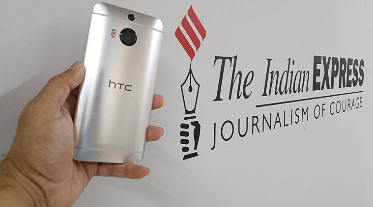 HTC One M9+ is priced Rs 48,362 on Flipkart. (Source: Nandagopal Rajan)