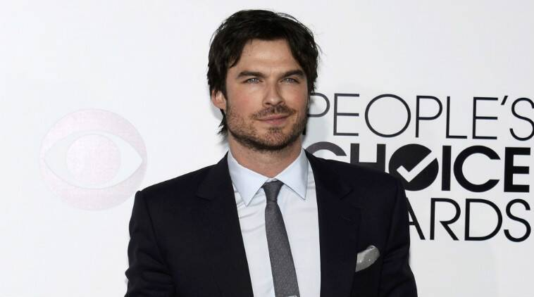 Ian Somerhalder told his admirers he just wasn't in the mood to pose for photographs. (Source: Reuters)