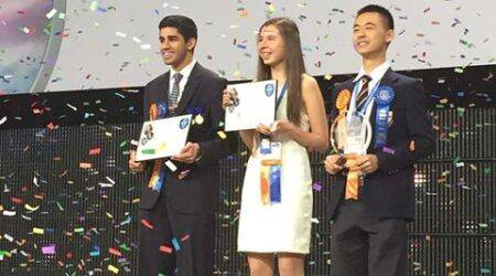 Nine Indian students win awards at prestigious international science, engineering fair