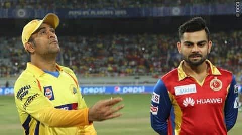 IPL Live Score RCB vs CSK: CSK to bowl against RCB inRanchi