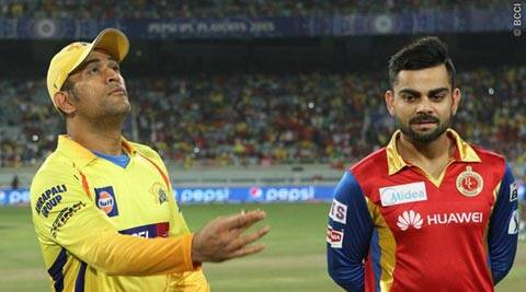 ipl live score, live score, ipl score live, RCB vs CSK, RCB vs CSK live, RCB vs CSK score, RCB vs CSK scorecard, cricket scorecard, cricket score live, ipl 2015, ipl 8, Bangalore vs Chennai, live ipl score, CSK vs RCB, live RCB vs CSK, ipl 2015 RCB vs CSK, Chennai vs Bangalore, cricket news, cricket, Indian Premier League