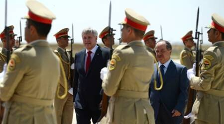Canadian PM Harper visits Iraq; Islamic State bombings across the country kill at least 30