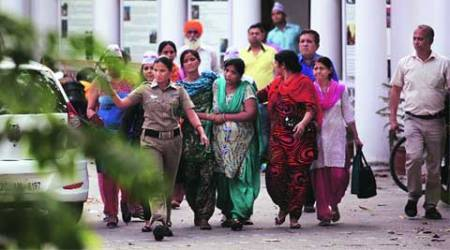 islamic state, is, sushma swaraj, islamic state sushma swaraj, sushma swaraj protest, is arrest, islamic state arrest protest, delhi news, india news