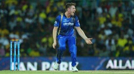 James Faulkner, James Faulkner RR, RR James Faulkner, Faukner RR, Rajasthan Royals, IPL 8, Indian Premier League, Cricket News, Cricket
