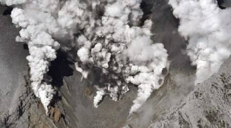 Volcano erupts on remote Japanese island, evacuation ordered