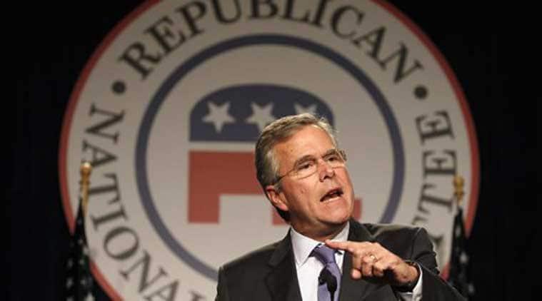 Jeb Bush, George W. Bush, Iraq invasion, Iraq war , US presidential candidate, George H.W. Bush, Islamic State militants, Obama, Republican candidates, Tempe news, Arizona news, US news, international news, world news