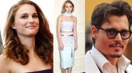 Johnny Depp, Johnny Depp daughter, Johnny Depp dauther's movie, natalie portman, zlotowski, lily rose depp, Johnny Depp teenage daughter, entertainment news