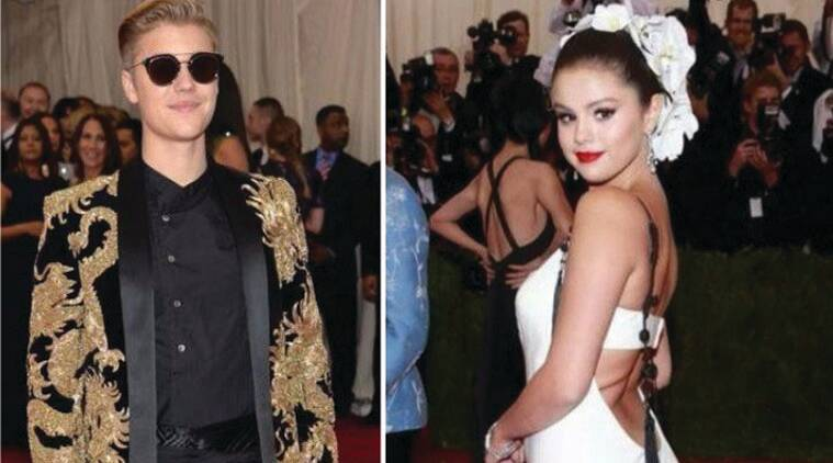 Justin Bieber, Selena Gomez, Met gala 2015, Selena Gomez Dress, Selena Gomez Look, Selena Gomez Fashion, Selena Gomez Attire, Justin Bieber Selena Gomez, hollywood, Entertainment news