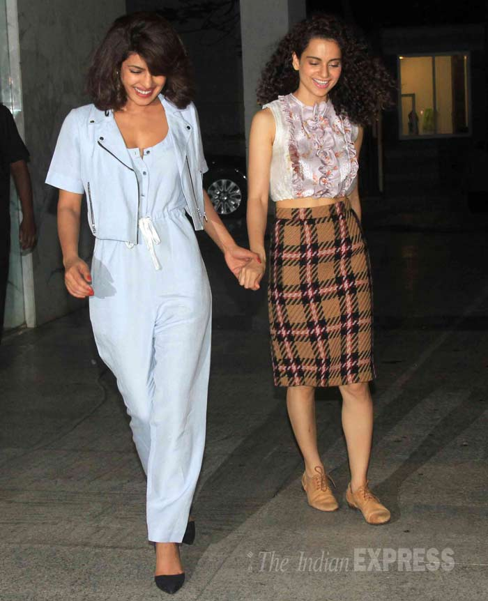 Priyanka Chopra, Kangana Ranaut, Priyanka Kangana, Priyanka Kangana National Award win, Aamir Khan, Zoya Akhtar, Priyanka Kangana photos