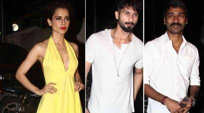 'Tanu Weds Manu Returns' success bash: Kangana Ranaut celebrates with Shahid and Dhanush