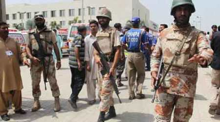Pakistani security forces kill 7 militants in Karachi