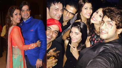 Inside pics of TV's Raman Bhalla aka Karan Patel's sangeet ceremony