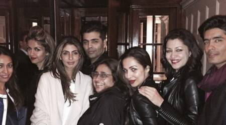Karan Johar celebrates 43rd birthday with BFFs Shweta Nanda, Malaika Arora Khan in London