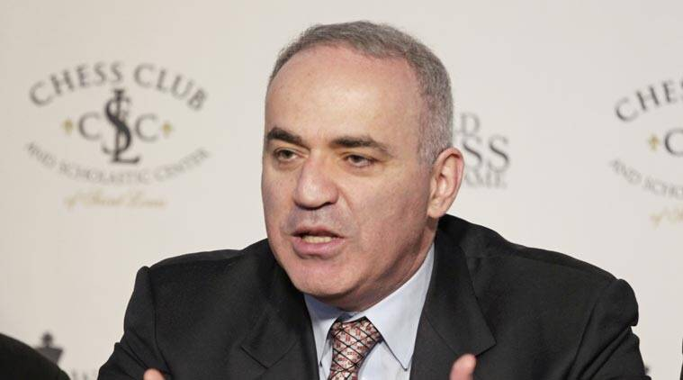 Garry Kasparov, Garry Kasparov Chess, Chess Garry Kasparov, chess, Grand Chess Tour, Chess Club & Scholastic Center, CCSCSL, World Chess Champion Garry Kasparov, Garry Kasparov, Grandmaster Nigel Short, Nigel Short, Indian express, express news, express sports, sports news