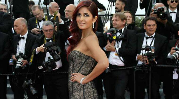Katrina Kaif, Katrina Kaif Cannes 2015, Cannes 2015 Katrina Kaif, Katrina Oscar de la Renta gown, Katrina Cannes, Katrina Cannes dress