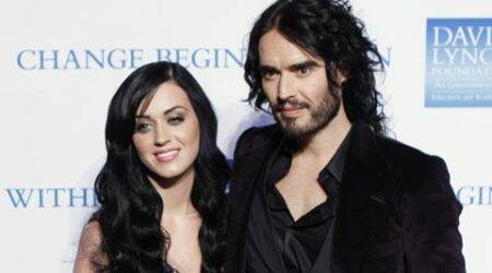 Katy Perry doesn't want to talk about ex-husband Russell Brand