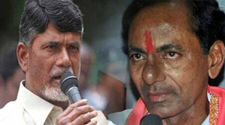 Telangana and AP rivalry reaches US as sons of Naidu and Chandrasekhara Rao land to woo investors