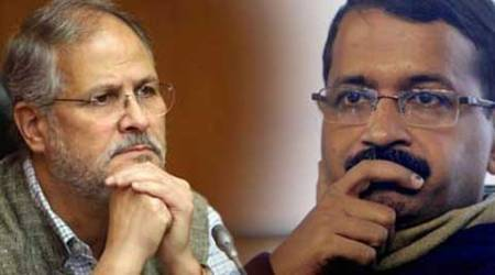 Arvind Kejriwal, kejriwal, Delhi Chief minister, delhi CM, Delhi LG, delhi Lieutenant governor, Najeeb Jung, DERC chief, Delhi Electricity Regulatory Commission, Krishna Saini, LG orders, replace Saini, india news, indian express