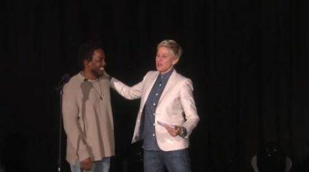 Kendrick Lamar performs 'These Walls' on Ellen DeGeneres Show