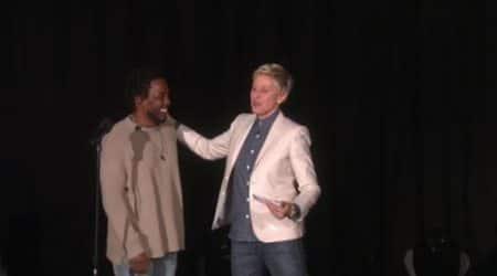 Kendrick Lamar performs 'These Walls' on Ellen DeGeneresShow