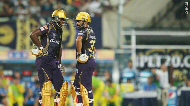 IPL 8, Indian Premier League, IPL 2015, KKR, Kolkata Knight Riders, KKR CSK, CSK KKR, KKR vs CSK, CSK vs KKR, Hogg, Uthappa, Russell, Cricket News, Cricket
