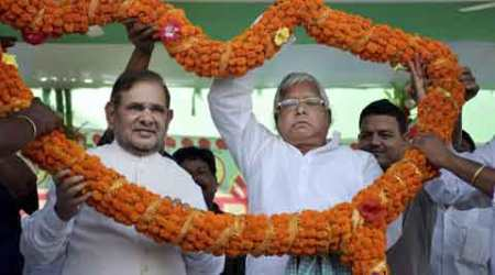 Nitish Kumar, Lalu Prasad, Sharad Yadav, Bihar elections, JD(U), RJD Chief Lalu Prasad, Narendra Modi, Politics news, india news, nation news, indian express