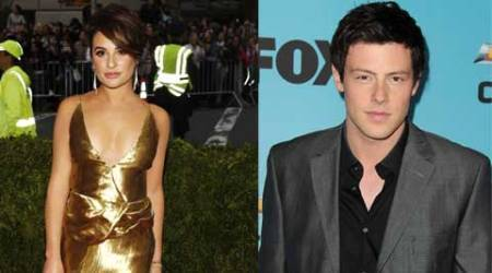 Lea Michele pays homage to Cory Monteith