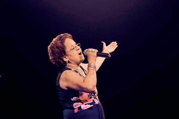 Lorna Cordeiro at a concert in Goa (Source: Express photo by Amit Chakravarty)