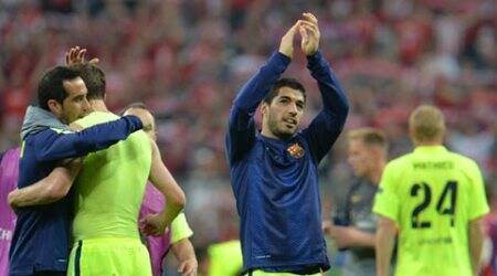 Luis Suarez to miss Barcelona's final La Liga outing of the season