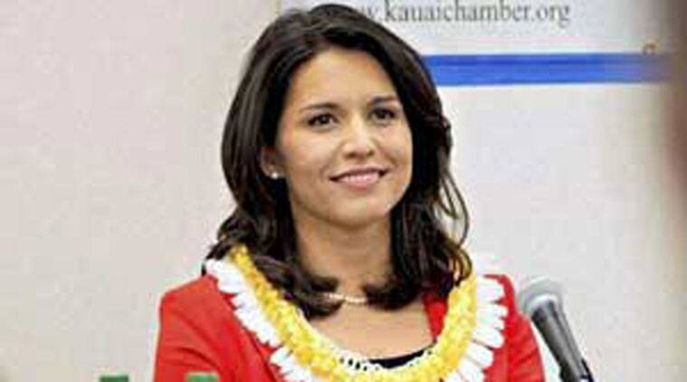 Tulsi Gabbard, Tulsi Gabbard Congress, Tulsi Gabbard Influential Women in Congress Congress, Influential Women, Tulsi Gabbard congress, indians abroad, indian express