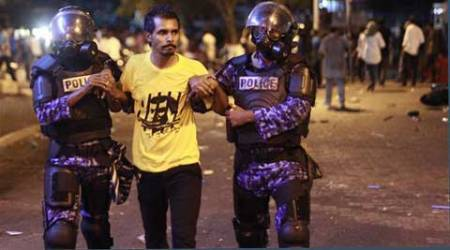 Maldives court orders opposition leadersdetained